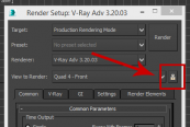 Unlock View to render in 3ds Max